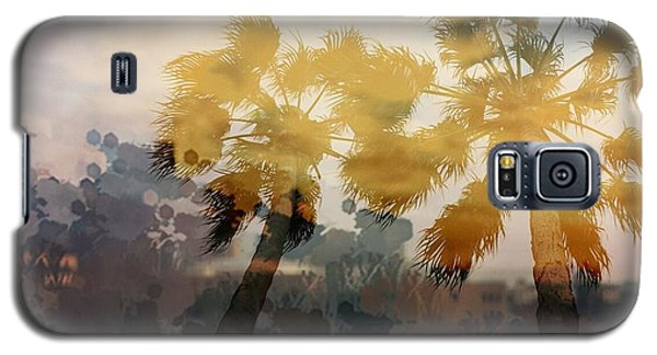 Galaxy S5 Case featuring the photograph Palms by Susan D Moody
