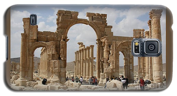 Palmyra Before...triumphal Arch Galaxy S5 Case