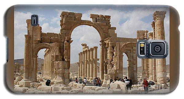 Palmyra Before...triumphal Arch Galaxy S5 Case