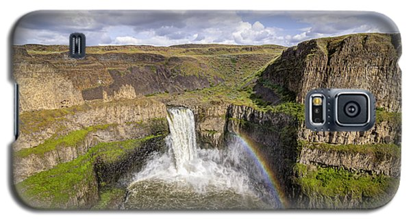 Galaxy S5 Case featuring the photograph Palouse Falls by Albert Seger