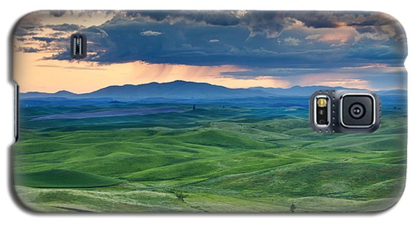 Green Galaxy S5 Cases - Palouse Storm Galaxy S5 Case by Mike  Dawson