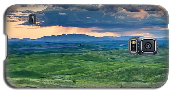 Palouse Storm Galaxy S5 Case by Mike  Dawson