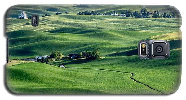 Palouse Wheat Farming Galaxy S5 Case