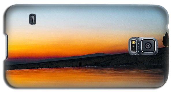 Galaxy S5 Case featuring the photograph Pammukale by Yuri Santin