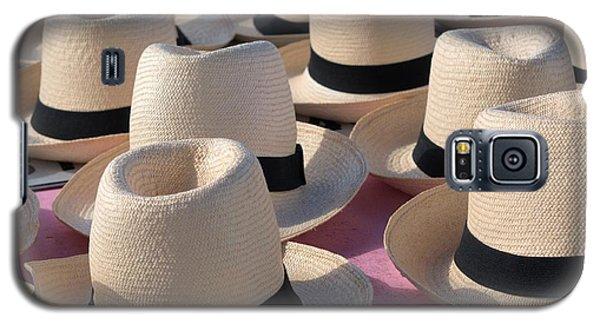 Panama Hats 3 Galaxy S5 Case