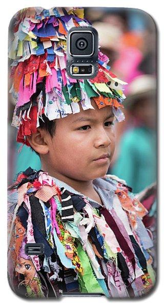 Panamanian Boy In Traditonal Costume Galaxy S5 Case