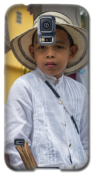 Panamanian Boy On Float In Parade Galaxy S5 Case