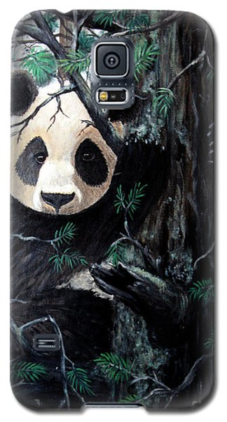 Panda In Tree Galaxy S5 Case