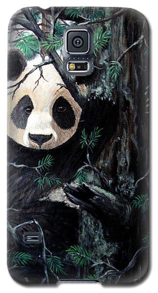 Panda In Tree Galaxy S5 Case by Nick Gustafson