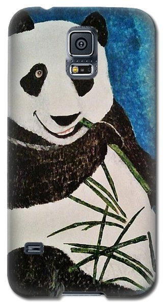 Galaxy S5 Case featuring the painting Panda by Jasna Gopic