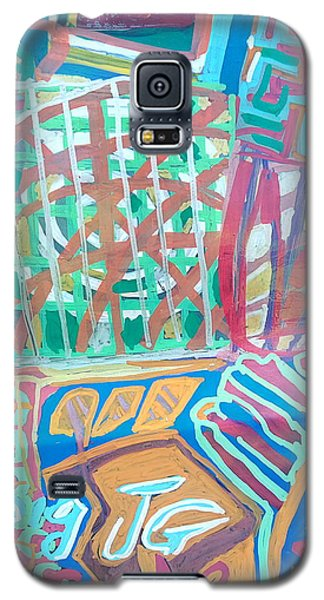 Panel Of Hand Painted Mondeo Galaxy S5 Case