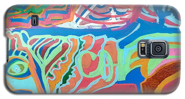 Panel On Hand Painted Ford Mondeo Galaxy S5 Case