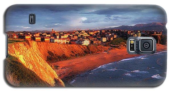 Panorama Of Aixerrota Sunset Galaxy S5 Case