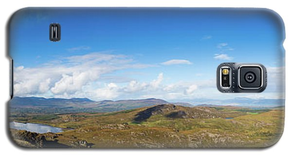 Galaxy S5 Case featuring the photograph Panorama Of Ballycullane And Lough Acoose In Ireland by Semmick Photo