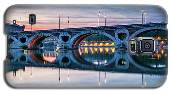 Galaxy S5 Case featuring the photograph Panorama Of Pont Neuf In Toulouse by Elena Elisseeva