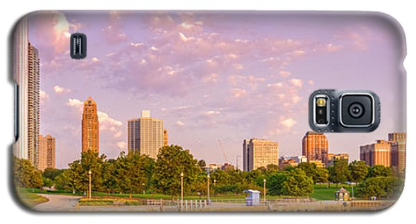 Panorama Of South Side Of Chicago Skyline And One Museum Park From Shedd Aquarium - Chicago Illinois Galaxy S5 Case