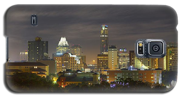 Panorama Of The Austin Skyline On A September Morning Galaxy S5 Case