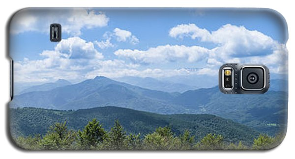 Panorama Of The Foothills Of The Pyrenees In Biert Galaxy S5 Case by Semmick Photo