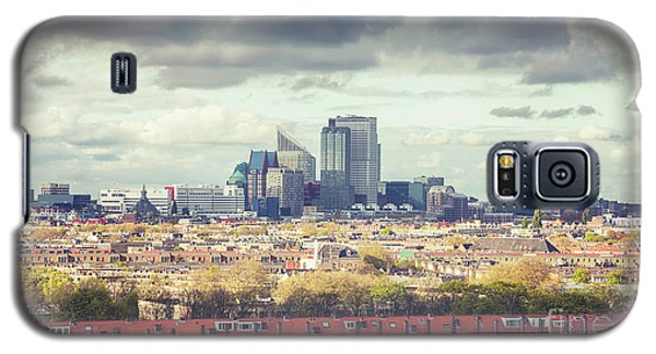 panorama of the Hague modern city Galaxy S5 Case