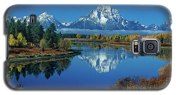 Panorama Oxbow Bend Grand Tetons National Park Wyoming Galaxy S5 Case