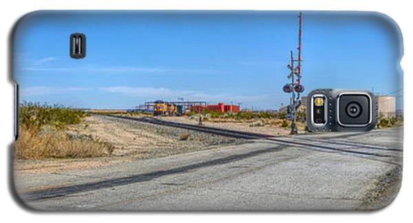 Panoramic Railway Signal Galaxy S5 Case