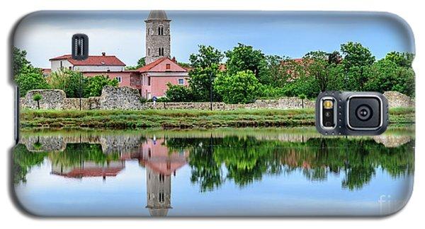 Panoramic Reflections Of Nin, Croatia Galaxy S5 Case