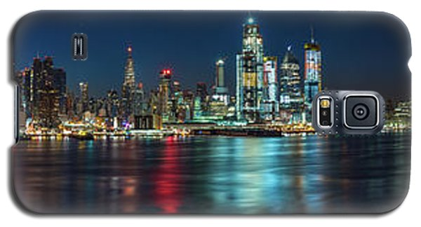 Panoramic Skyline-manhattan Galaxy S5 Case