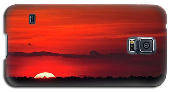 Panoramic Sunset Galaxy S5 Case