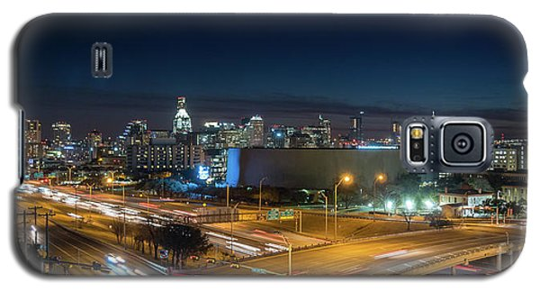 Panoramic View Of Busy Austin Texas Downtown Galaxy S5 Case