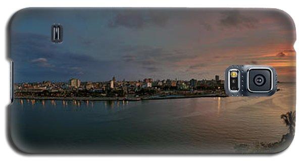 Panoramic View Of Havana From La Cabana. Cuba Galaxy S5 Case by Juan Carlos Ferro Duque
