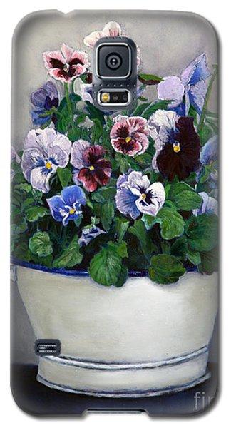 Pansies Galaxy S5 Case