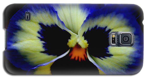 Pansy Face Galaxy S5 Case