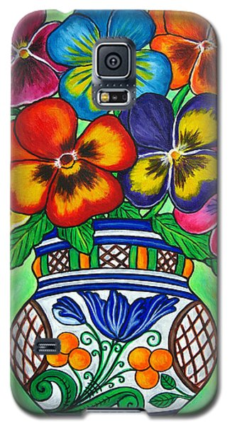 Pansy Parade Galaxy S5 Case