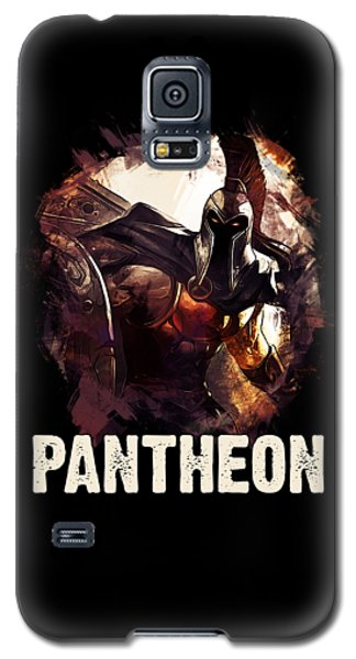 Nerd Galaxy S5 Case - Pantheon - League Of Legends by Dusan Naumovski