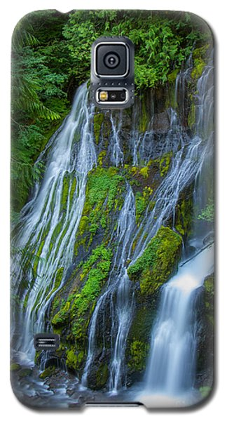 Panther Creek Falls Summer Waterfall 1 Galaxy S5 Case