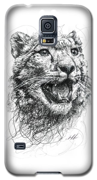 Leopard Galaxy S5 Case by Michael Volpicelli