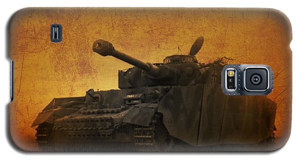 Galaxy S5 Case featuring the digital art Panzer 4 Ausf H by John Wills