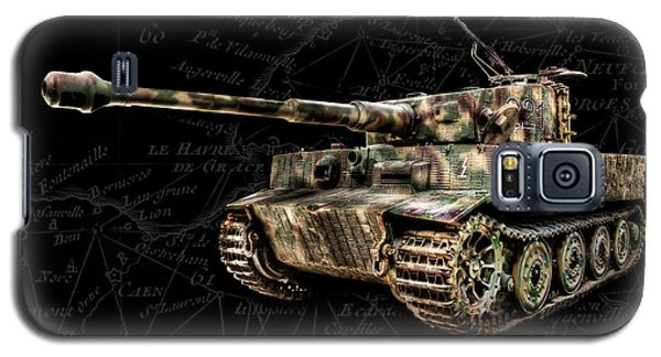 Panzer Tiger I Side Bk Bg Galaxy S5 Case