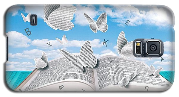 Paper Butterflies Galaxy S5 Case