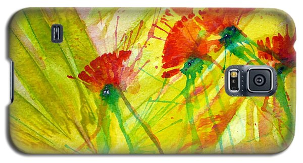 Paper Flowers Galaxy S5 Case