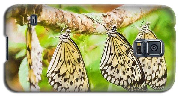 Paper Kite Butterflies Galaxy S5 Case