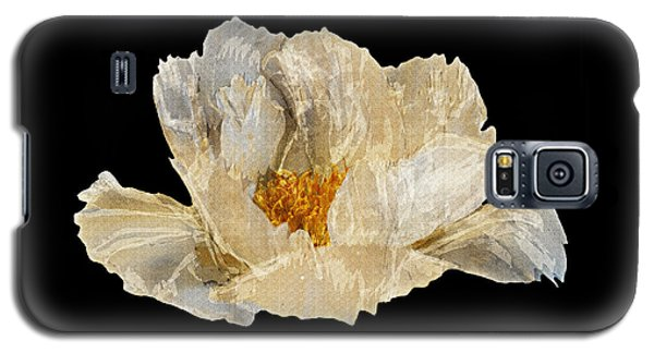 Galaxy S5 Case featuring the photograph Paper Peony Loving By Giving by Diane E Berry