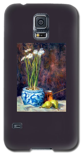 Paper Whites And Pears Galaxy S5 Case