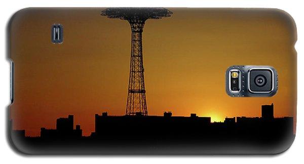 Parachute Jump Coney Island Galaxy S5 Case