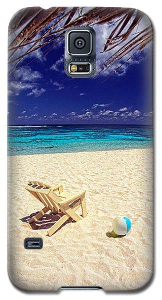 Paradise Beach Ball Galaxy S5 Case
