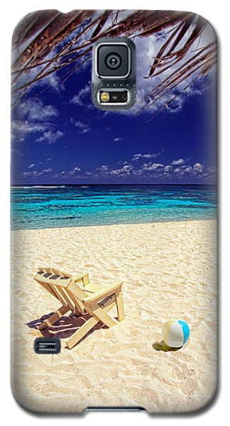 Paradise Beach Ball Galaxy S5 Case