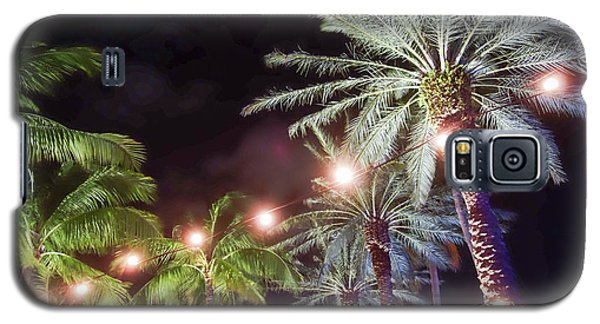 Galaxy S5 Case featuring the photograph Paradise By Night by Wilko Van de Kamp