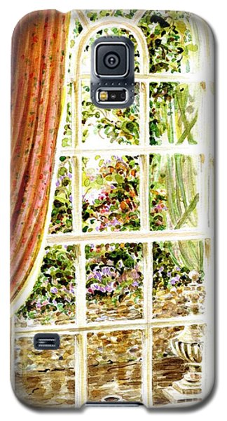 Galaxy S5 Case featuring the painting Paradise House In Bath England by Dee Davis