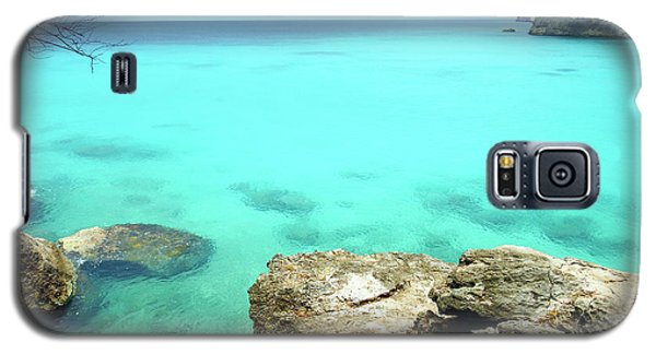 Galaxy S5 Case featuring the photograph Paradise Island, Curacao by Kurt Van Wagner