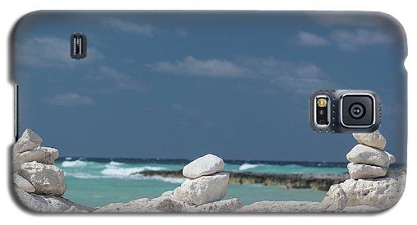 Galaxy S5 Case featuring the photograph Paradise Island by Wilko Van de Kamp